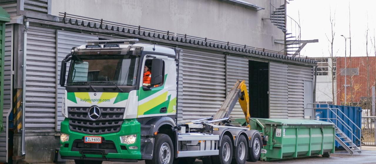 biokaasu lava-auto